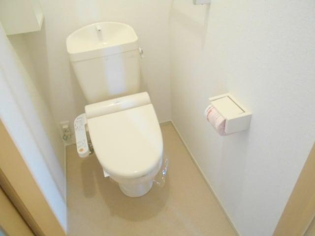 デンタ-ハ-ト 03010号室のトイレ