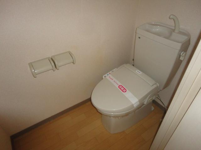 Sun Palace 203号室のトイレ