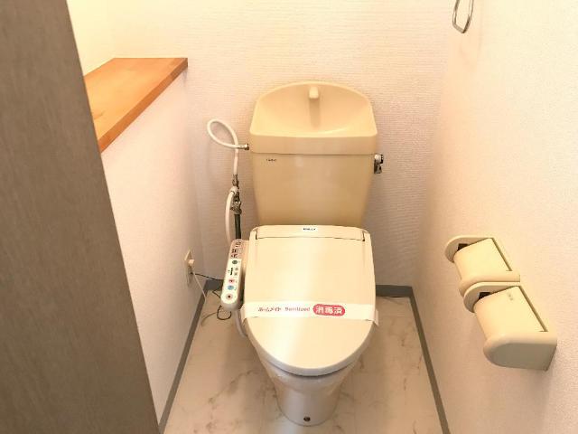 エポックあすか 202号室のトイレ