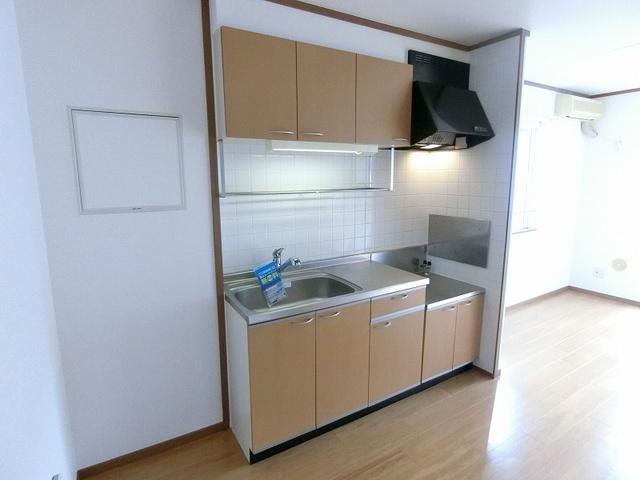 ノアA 02010号室のキッチン