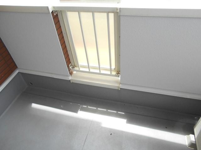 ミルトA 02010号室のバルコニー