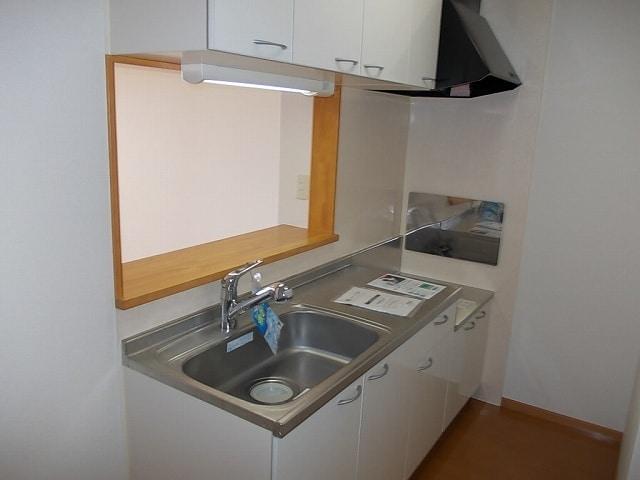 ミルトA 02010号室のキッチン
