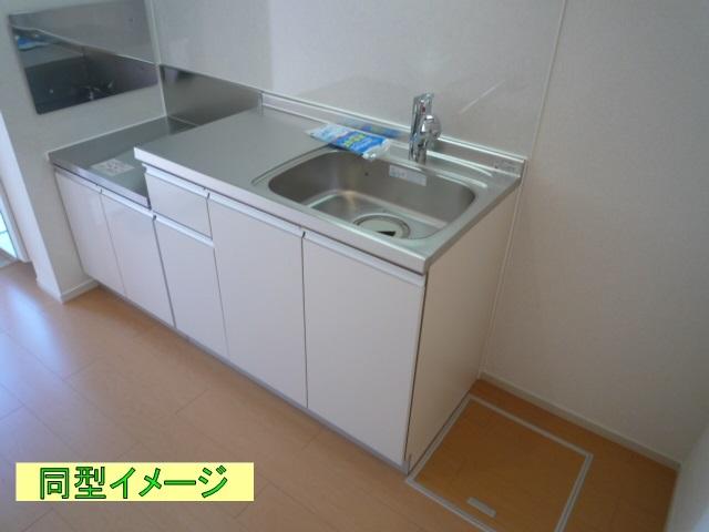 リトルグローブⅤ 01010号室のキッチン