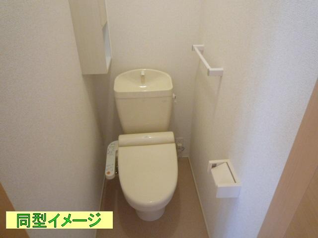 リトルグローブⅤ 01010号室のトイレ