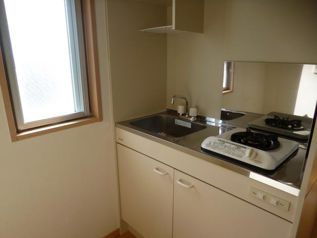 Plaza・M 203号室のキッチン