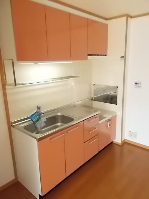 メゾン ソレイユA 01020号室の風呂