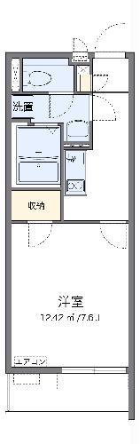 クレイノSATSUKI・304号室の間取り
