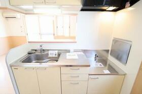 アドニス・フラット A/B B102号室のキッチン