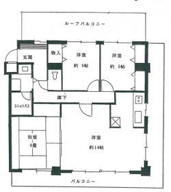 フォート金沢八景相川ビルⅡ・501号室の間取り