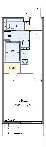 クレイノSATSUKI・102号室の間取り