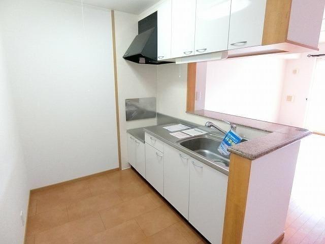 グラン ソレイユB 01030号室のキッチン