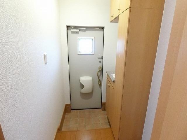 グラン ソレイユB 01030号室のセキュリティ