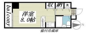 ジュネパレス新松戸第16・0404号室の間取り