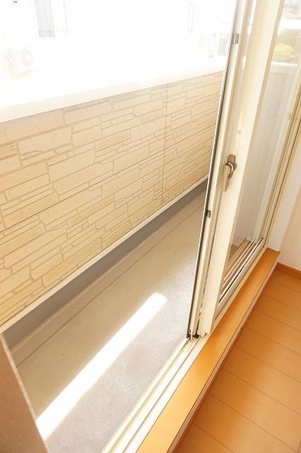 スワン KITAMURA A 02030号室のバルコニー
