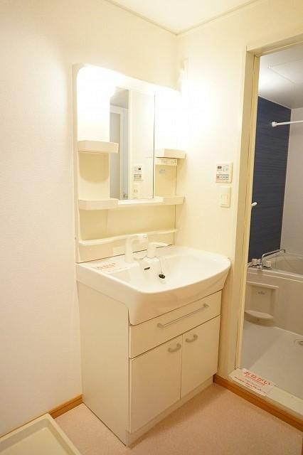 スワン KITAMURA A 02030号室の洗面所