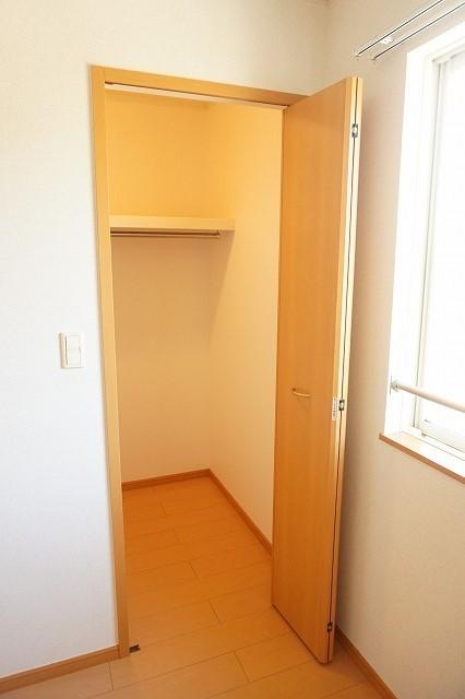 スワン KITAMURA A 02030号室の収納