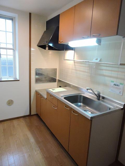 スカイハイツK A 02010号室のキッチン