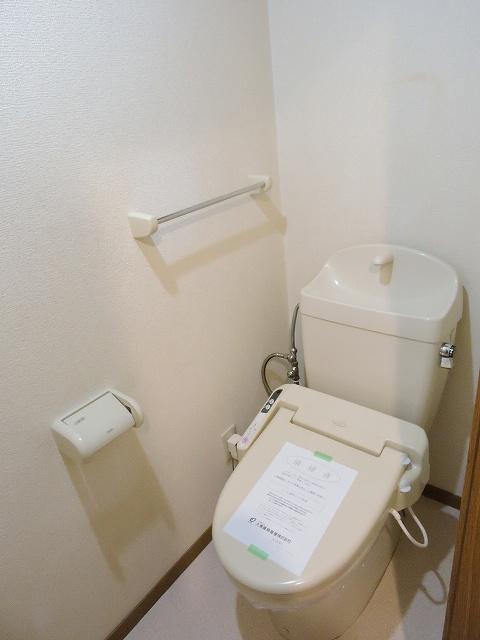 スカイハイツK A 02010号室のトイレ