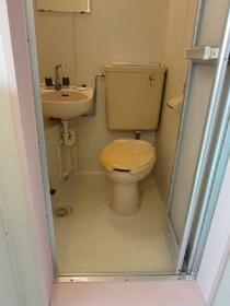 スカイメゾン新松戸 102号室のトイレ