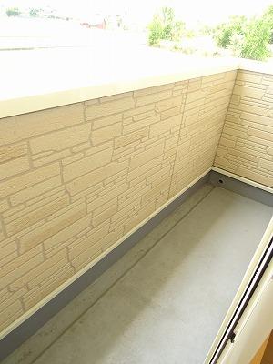 アベンシス7 02050号室のバルコニー
