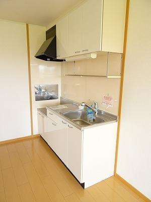アベンシス7 02050号室のキッチン