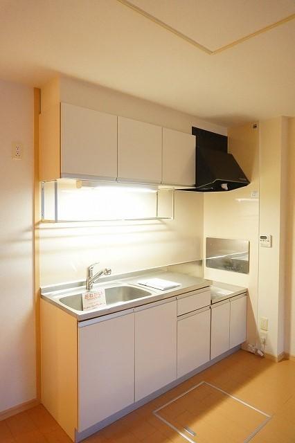 ベル・メゾン鶴市B 01030号室のキッチン