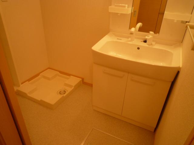 レスプランド-ル 02020号室の洗面所