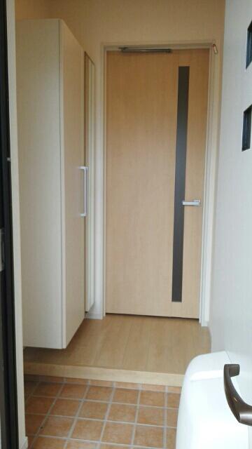 エスポワールA 01020号室の玄関