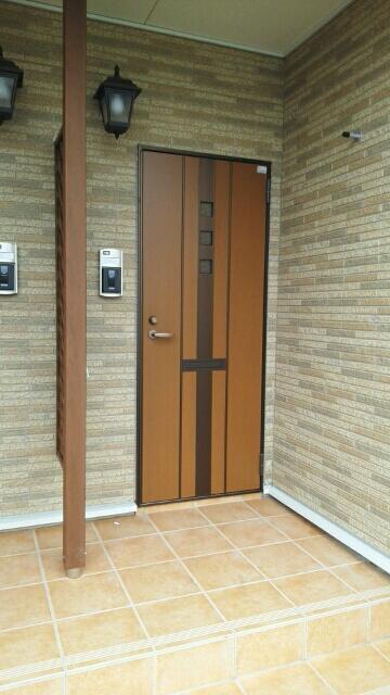 エスポワールA 01020号室のエントランス