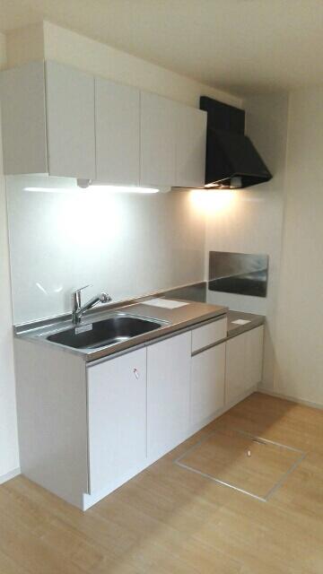 エスポワールA 01020号室のキッチン