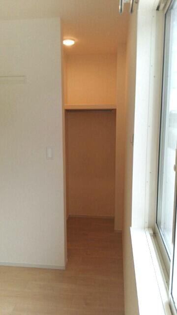 エスポワールA 01020号室の収納