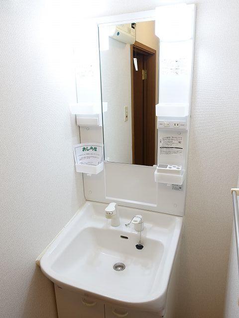 ヴィラ ラルジュ 蘭 02020号室の洗面所