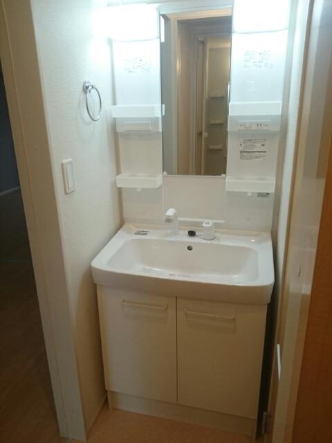 シュウプリングA 01020号室の洗面所