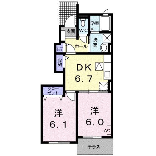 エテルノ・パラッツオⅠ・01010号室の間取り