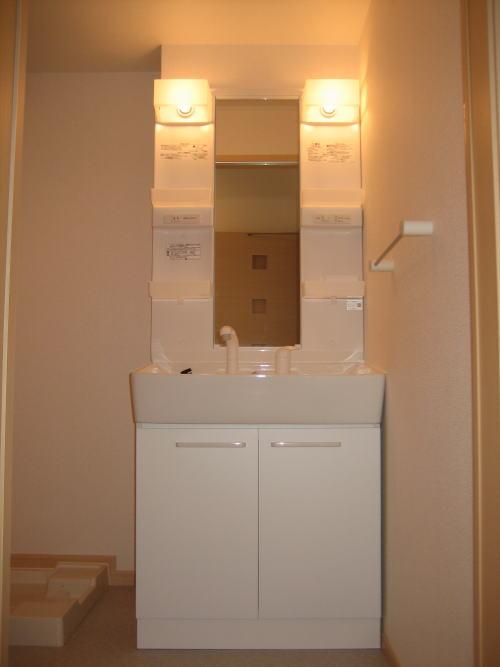 レジデンスM・J A 01010号室の洗面所