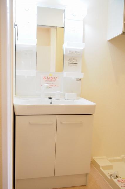 フィオーレ リン A 01020号室の洗面所