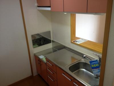 ハピネス村山C 02020号室のキッチン