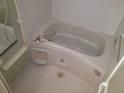 ハピネス村山C 02020号室の風呂