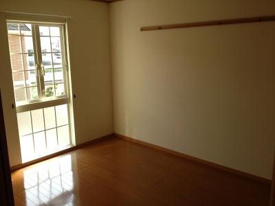 ハピネス村山C 02020号室のベッドルーム