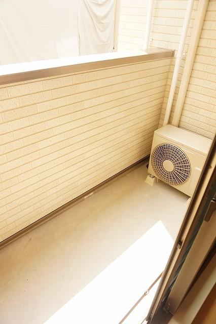 アネシス木太B 01030号室のバルコニー