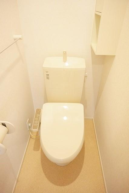 アネシス木太B 01030号室のトイレ