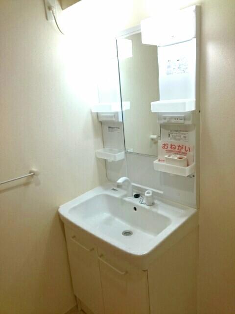 サンライズ田村 Ⅱ 02020号室の洗面所