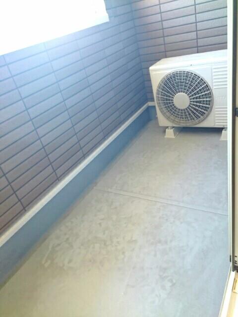 サンライズ田村 Ⅱ 02020号室のバルコニー
