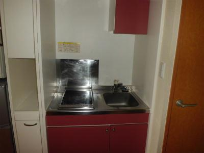 レオパレスくらち 104号室のキッチン