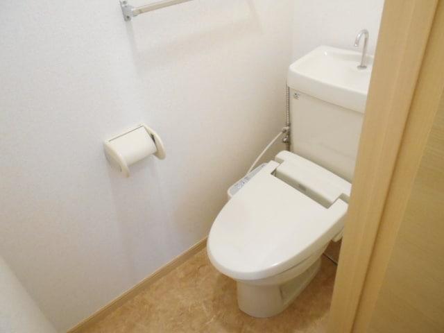 サンビレッジ大堀C 02020号室のトイレ