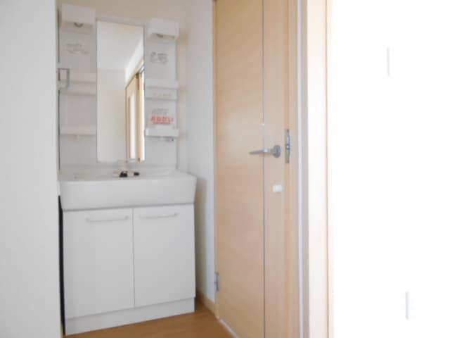 サンビレッジ大堀C 02020号室の洗面所