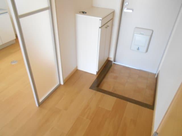 サンビレッジ大堀C 02020号室の玄関