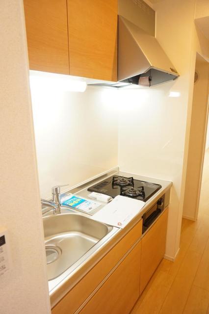 ディアコート 宮脇 02030号室のキッチン