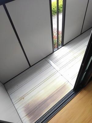 コーポリバーサイド・藤 A 02020号室のバルコニー
