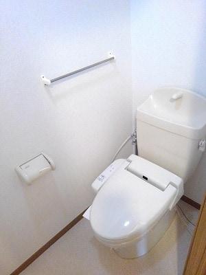 コーポリバーサイド・藤 A 02020号室のトイレ